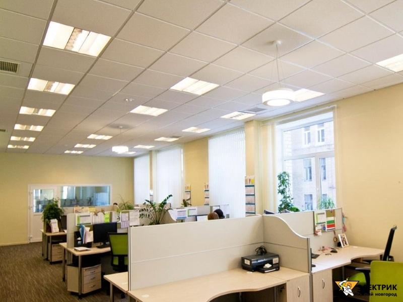 Электромонтаж офисных помещений Нижний Новгород