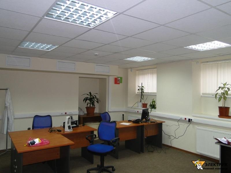 Электромонтаж офисных помещений в Нижнем Новгороде