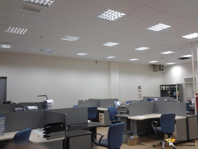 Электромонтаж офисных помещений