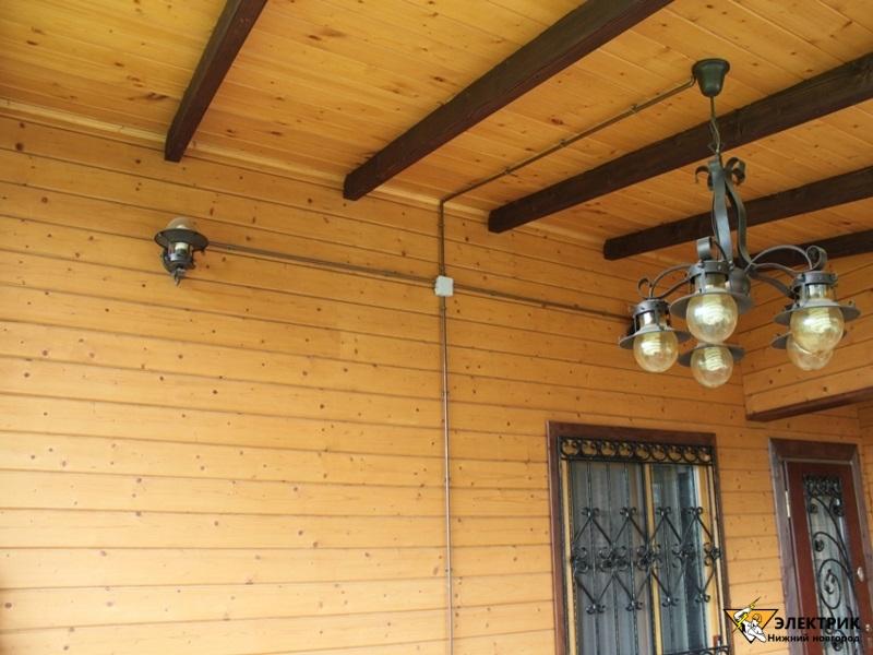электрика в деревянном доме в Нижнем Новгороде