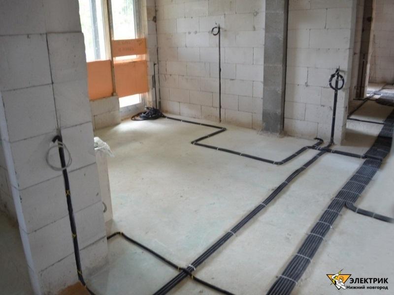 электрика в квартире под ключ Нижний Новгород