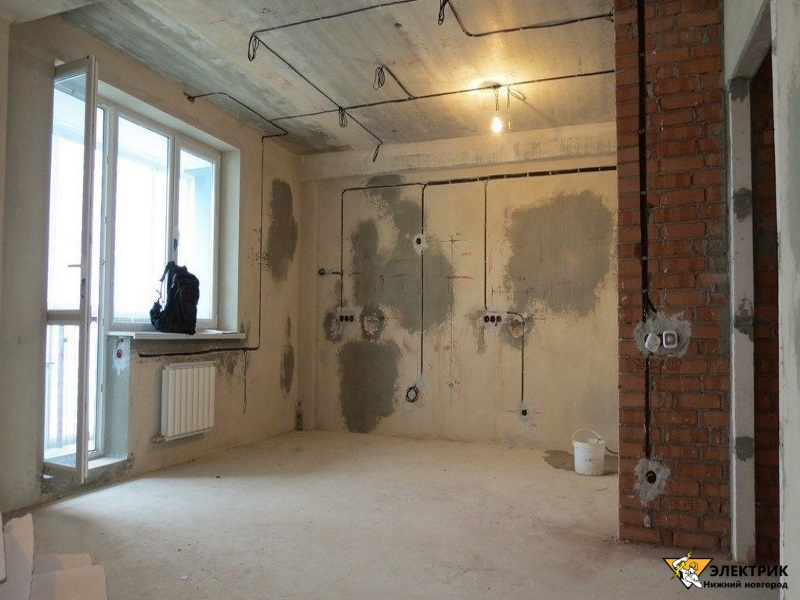 электрика в квартире под ключ в Нижнем Новгороде