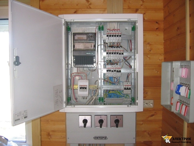 электрик на дом цены