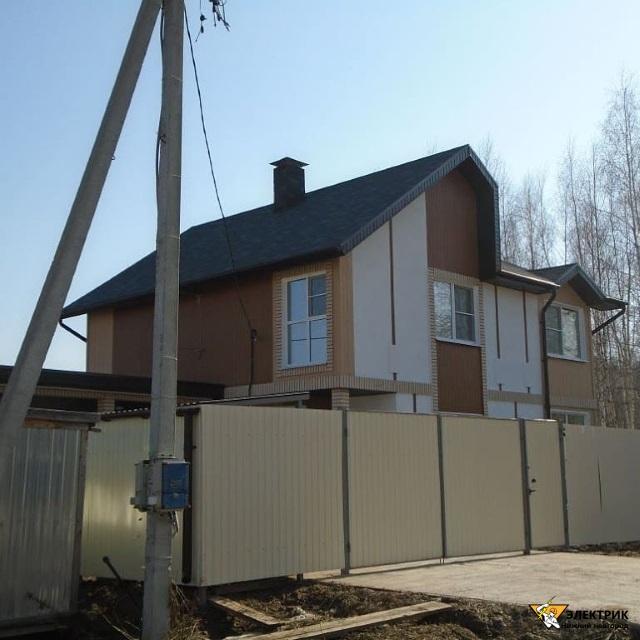 электромонтаж в щитовом деревянном доме